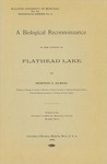 A Biological Reconnoissance in the Vicinity of Flathead Lake, 1902 by University of Montana--Missoula. Biological Station, Flathead Lake and Morton J. Elrod