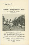Eighth Annual Announcement of the University of Montana Biological Station at Flathead Lake, 1906 by University of Montana--Missoula. Biological Station, Flathead Lake