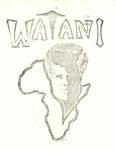 Watani, February 21, 1971 by University of Montana Black Student Union