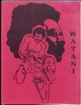Watani, 1974-1975 by University of Montana Black Student Union