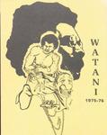 Watani, 1975-1976 by University of Montana Black Student Union