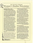 Women's Studies Program Newsletter, Spring 1994 by University of Montana--Missoula. Department of Women's Studies