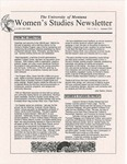 Women's Studies Program Newsletter, Fall 1994 by University of Montana--Missoula. Department of Women's Studies