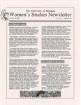 Women's Studies Program Newsletter, Fall 1994