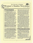 Women's Studies Program Newsletter, Fall 1995