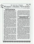 Women's Studies Program Newsletter, Spring 1997