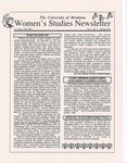 Women's Studies Program Newsletter, Spring 1998 by University of Montana--Missoula. Department of Women's Studies