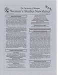 Women's Studies Program Newsletter, Spring 1999 by University of Montana--Missoula. Department of Women's Studies