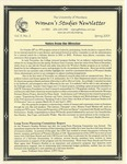 Women's Studies Program Newsletter, Spring 2001 by University of Montana--Missoula. Department of Women's Studies