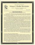 Women's Studies Program Newsletter, Spring 2001