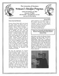 Women's Studies Program Newsletter, Spring 2002 by University of Montana--Missoula. Department of Women's Studies