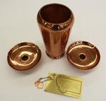 Vase, candlesticks, and keychain by University of Montana--Missoula.