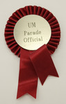 UM Parade Official Ribbon by University of Montana--Missoula.