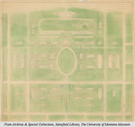 1917 Campus Plan by Cass Gilbert and George Hollis Carsley