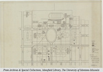 1927 State University of Montana and Future Buildings by T. G. Swearingent