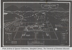 Map of Land Acquisitions, 1895-1936, Montana State University by Montana State University (Missoula, Mont.) and Olson