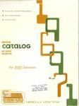 Missoula VoTech Course Catalog, 1969-1971
