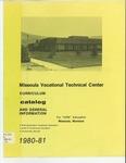 Missoula VoTech Course Catalog, 1980-1981