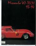 Missoula VoTech Course Catalog, 1993-1994 by Missoula Vo Tech