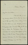 Letter from Thomas Carlyle to Jane Wilson by Thomas Carlyle
