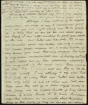 Letter from Alexander Carlyle to his brother, Thomas Carlyle