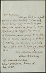 Letter from Robert Browning to Moncure Conway