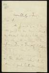 Letter from Edward FitzGerald to an unidentified recipient