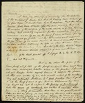 Letter from Samuel Taylor Coleridge to James Augustus Hessey, [1822-25] by Samuel Taylor Coleridge