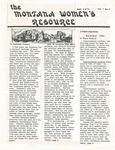 The Montana Women's Resource, May 1975
