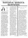 The Montana Women's Resource, November 1975