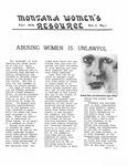 The Montana Women's Resource, Fall 1976