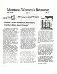 The Montana Women's Resource, Fall 1978