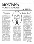 The Montana Women's Resource, 1983 special by University of Montana (Missoula, Mont. : 1965-1994). Women's Resource Center