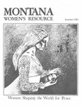 The Montana Women's Resource, Summer 1983 by University of Montana (Missoula, Mont. : 1965-1994). Women's Resource Center