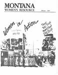 The Montana Women's Resource, Winter 1984 by University of Montana (Missoula, Mont. : 1965-1994). Women's Resource Center