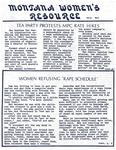 The Montana Women's Resource, circa 1976